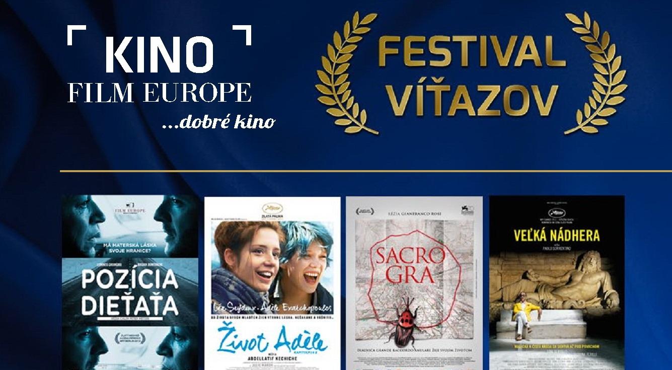 Kino Film Europe apražské Kino Lucerna uvádzajú Festival víťazov