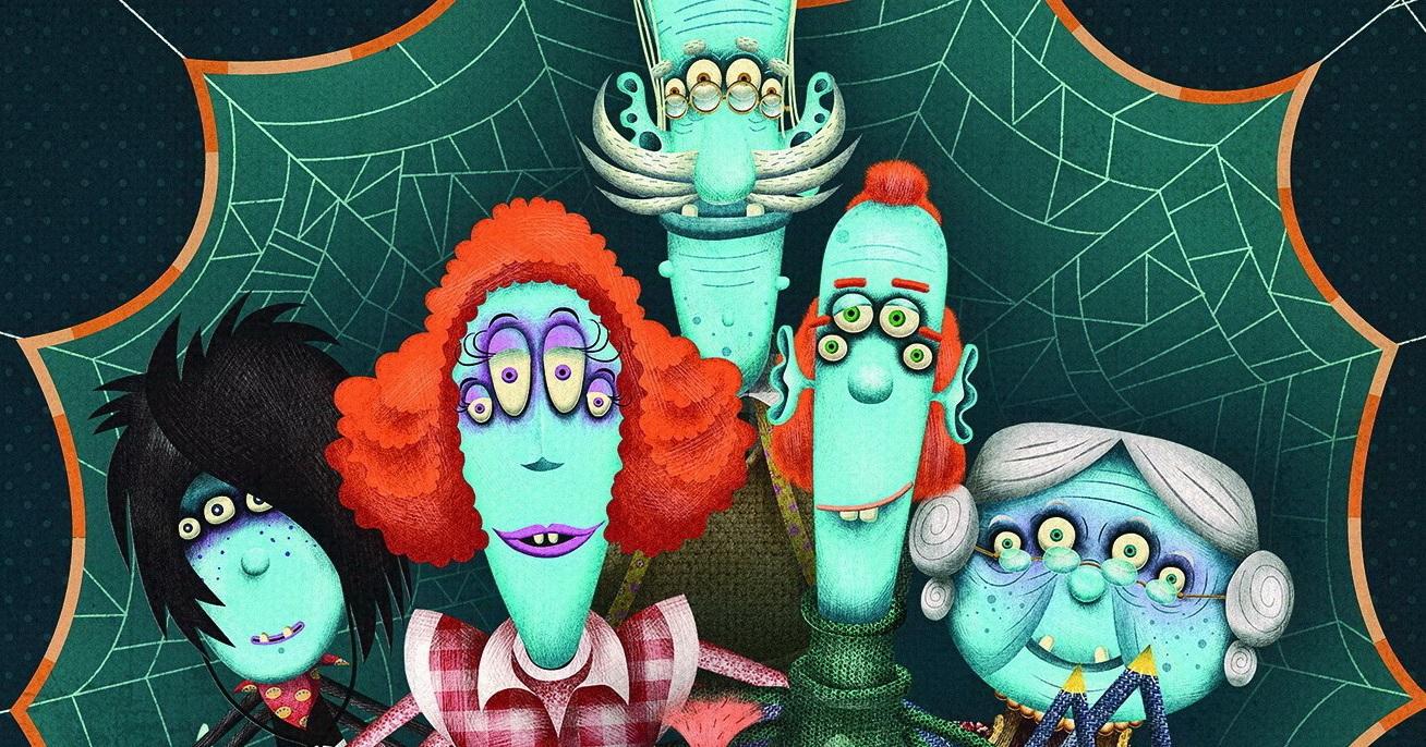 Websterovci - nová rozprávková kniha a 3D animovaný seriál
