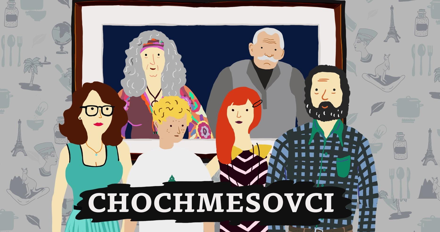 Animovaný seriál o etikete - rodinka Chochmesovcov