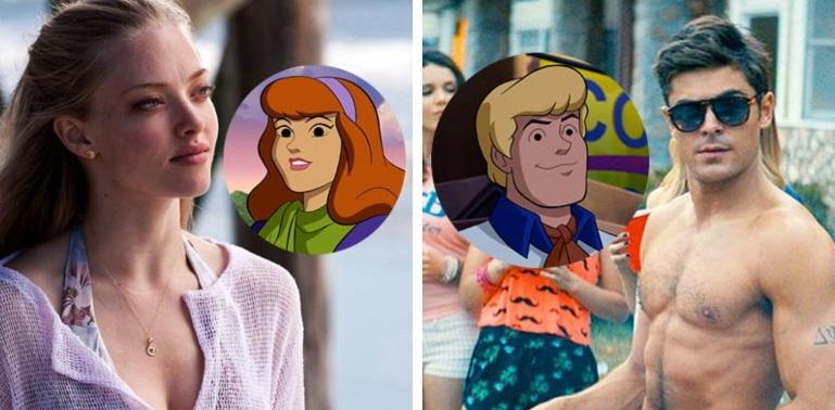 V novej verzii Scooby–Doo postavy nahovoria Zac Ephron a Amanda Seyfried