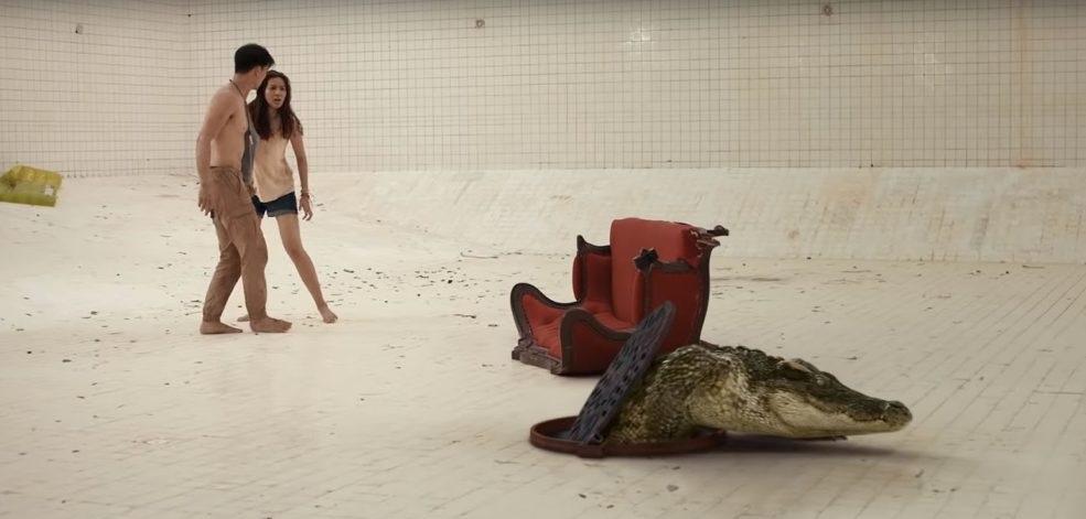 Dvaja ľudia, bazén a krokodíl. Thajský triler pracuje s uzavretým priestorom