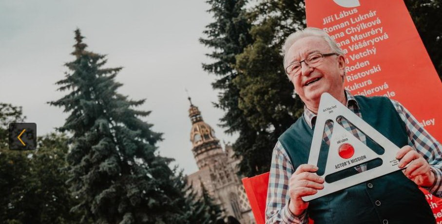 Jiří Lábus pri preberaní ceny v Košiciach priznal, že herectvo ho robí šťastným