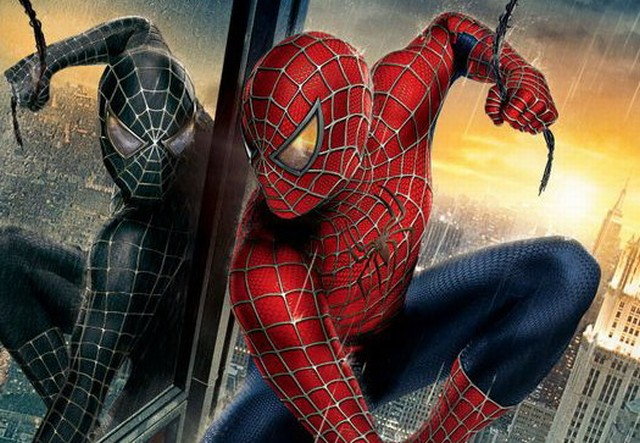 3 man movie review spider